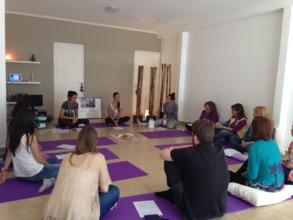 Sen sibilization Meeting in Natalia's Studio