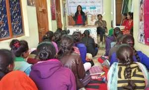 Job Fair for Beautician vocational education Train