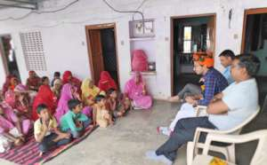 Interaction with Women SHGs