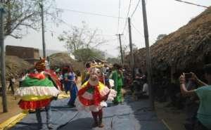 1) Sensitizing the villagers through Godha Naach