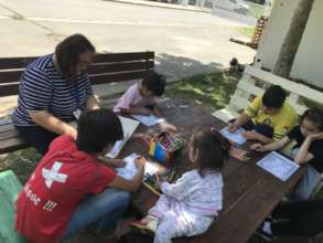 Coloring games for the youngest in the Summer heat