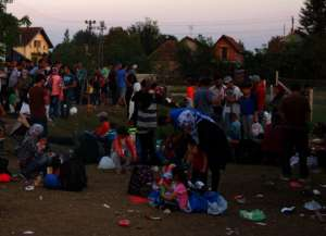 Refugees Coming in Thousands to Serbia