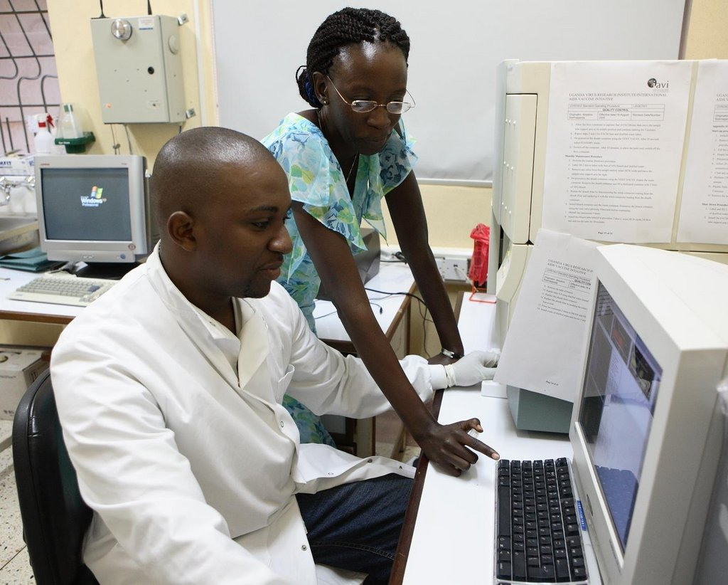 Stop Brain Drain of African AIDS Scientists