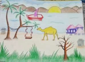 Student submission for reimagining Clifton Beach