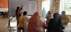 Government teachers attend art workshop