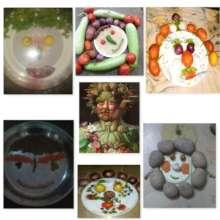 Mannerist interpretation of food as portraits