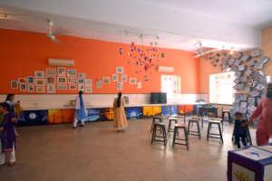 SMB Fatima Jinnah School's Art room