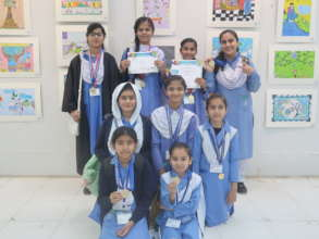 Winners of country-wide art competition