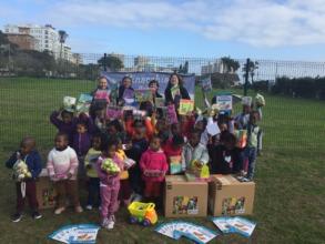 ORT SA CAPE's Mandela Day donation to the creche