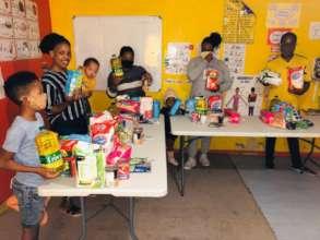 Food programme in Du Noon
