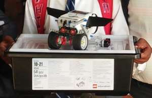One of the LEGO Mindstorms EV3 Kits