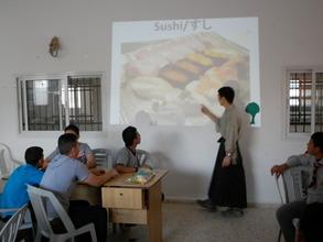 Sushi in Al Aqaba! Teacher Yuhki Ohnogi from Japan