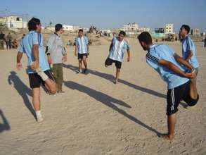 Stretching Before Soccer Practice (2008)