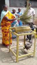 One Beneficiary woman
