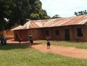 One of the beneficiary school