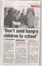 It was published in the local News paper