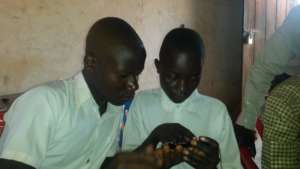 Learning on a phone