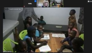Learning English via Videoconferencing