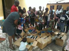 Shoe Distribution in Guinea