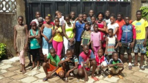 New students at MindLeaps Guinea