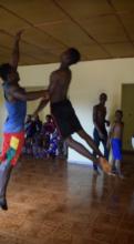 Dance class in Guinea