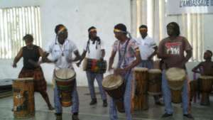 Dance Class with Drummers