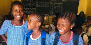 MindLeaps Guinea students sponsored in school