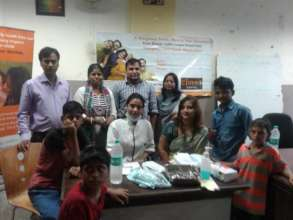Health camp organised at DMRC Shelter Home