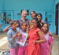 Helen Appleton-volunteers at Udaan Rose Home