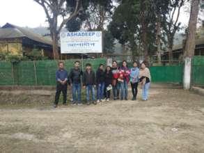 Ashadeep Foundation Visit