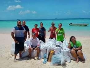 Tuvalu Invasive Seaweed Removal Project