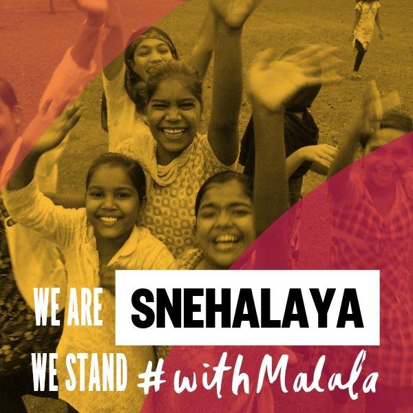 Snehalaya #Gala4Malala Giving India Back #HerVoice