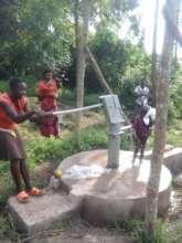 New Borehole at Luswa Myanzi sub county Mubende