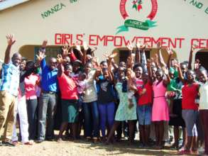 NIGEE beneficiaries and staffs at the GEC
