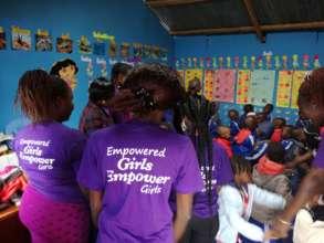 GSC members inside the ECDE class