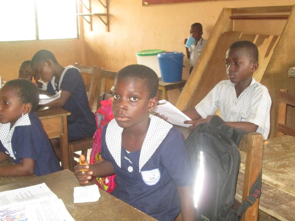 Back to school, poor Sara needs your help, Ghana