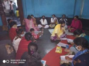 Livelihood Training in Narkeldanga