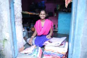 Sari selling business