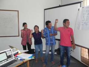 During the Training of Trainers