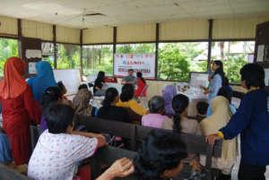 Medical check-ups in villages
