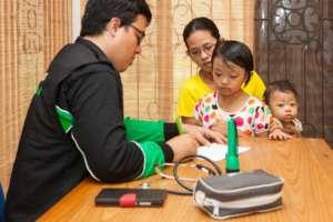 Doctors providing medical assistance