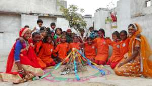 HOLI Mahotsav with Pathshala Children !!