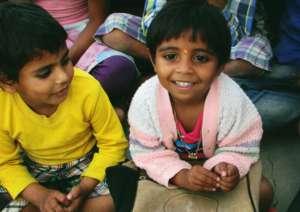 Happy Children studying at Pathshala school