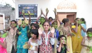 Festival of Color Celebration with Pathshala Kids