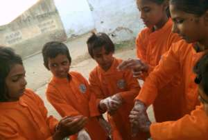 Hygiene Awareness Camp in Pathsala !