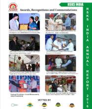 RSKSA India, award recognized & commendation