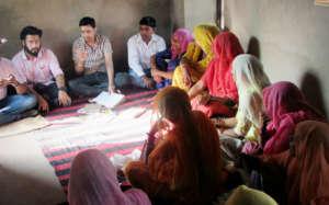Interaction with women student of UDAAN School !!
