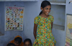 Education; one of the Girl Child Beneficiary !!