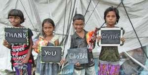 Children Say; Happy ThanksGiving Day!!