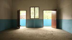 The classrooms at Bal Shiksha school are complete